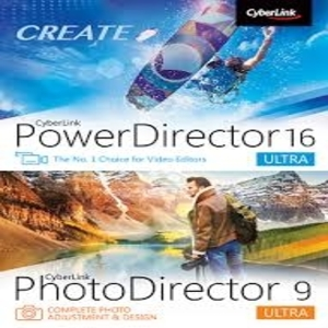 PowerDirector 16 Ultra PhotoDirector 9 Ultra Duo