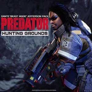Predator Hunting Grounds Dante Beast Mode Jefferson Pack