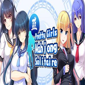 Pretty Girls Mahjong Solitaire BLUE