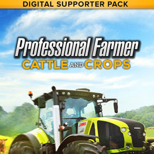 Professional Farmer Cattle and Crops Digital Supporter Pack