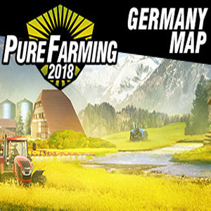 Pure Farming 2018 Germany Map