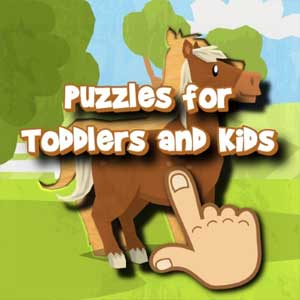 Puzzles for Toddlers & Kids Animals, Cars and more