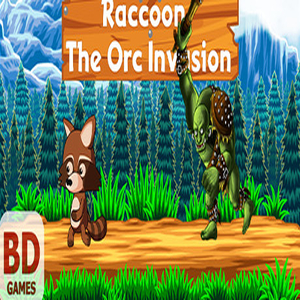 Raccoon The Orc Invasion