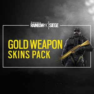 Buy Rainbow Six Siege Gold Weapons Skin Pack CD Key Compare Prices