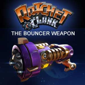 Buy Ratchet and Clank The Bouncer Weapon PS4 Game Code Compare Prices