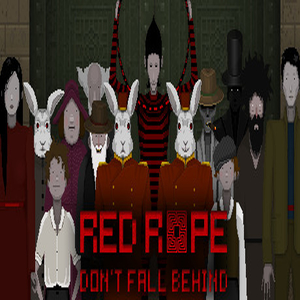 Red Rope Dont Fall Behind