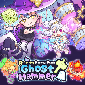 Refreshing Sideways Puzzle Ghost Hammer