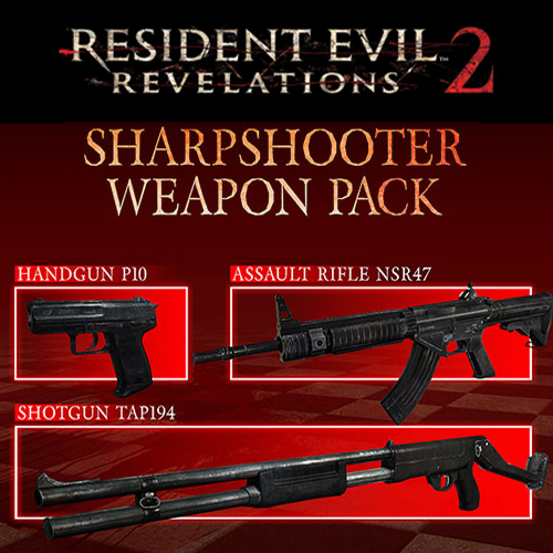 Resident Evil Revelations 2 Sharpshooter Weapon Pack