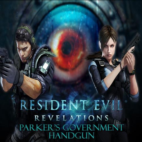 Resident Evil Revelations Parker's Government Handgun