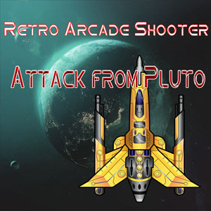 Retro Arcade Shooter Attack from Pluto