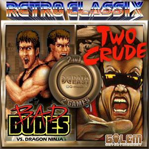 Buy Retro Classix 2-in-1 Bad Dudes & Two Crude Dudes Nintendo Switch Compare Prices