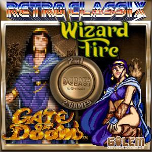 Retro Classix 2-in-1 Pack Gate of Doom & Wizard Fire