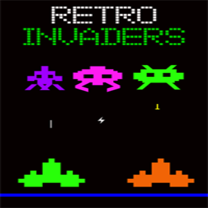 Retro Invaders