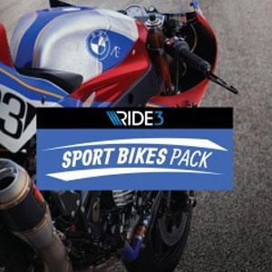 RIDE 3 Sport Bikes Pack