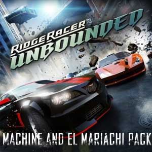 Ridge Racer Unbounded Machine and El Mariachi Pack