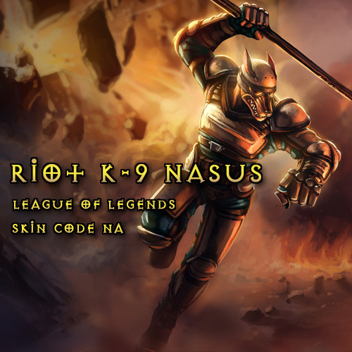 Buy Riot K-9 Nasus League Of Legends Skin NA GameCard Code Compare Prices