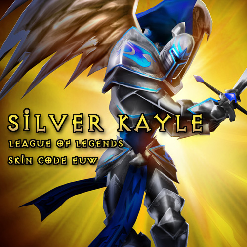 Buy Riot Silver Kayle League Of Legends Skin EUW GameCard Code Compare Prices