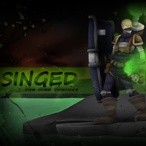 Buy Riot Squad Singed League Of Legends Skin GameCard Code Compare Prices