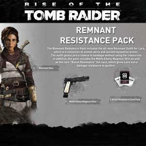Buy Rise of the Tomb Raider Remnant Resistance Pack Outfit Pack CD Key Compare Prices