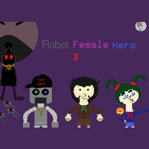 Robot Female Hero 3