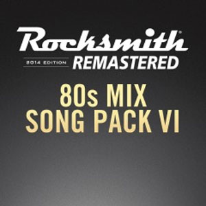 Rocksmith 2014 80s Mix Song Pack 6