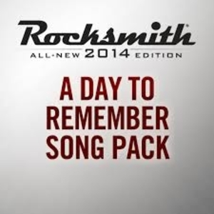 Rocksmith 2014 A Day To Remember Song Pack