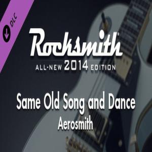 Rocksmith 2014 Aerosmith Same Old Song and Dance