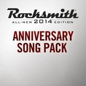 Rocksmith 2014 Anniversary Song Pack