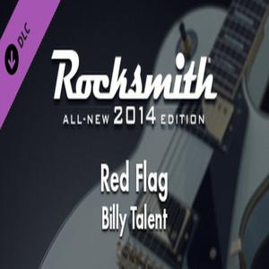 Rocksmith 2014 Billy Talent Red Flag