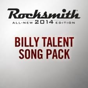 Rocksmith 2014 Billy Talent Song Pack