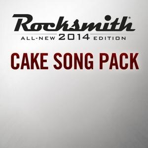 Rocksmith 2014 Cake Song Pack