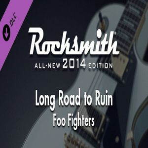 Rocksmith 2014 Foo Fighters Long Road to Ruin