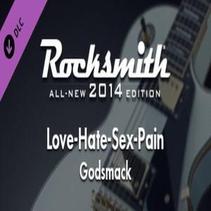 Rocksmith 2014 Godsmack Love Hate Sex Pain