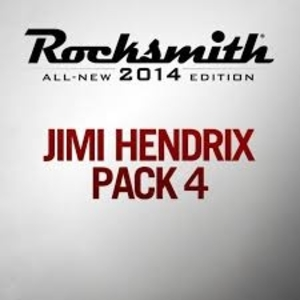Rocksmith 2014 Jimi Hendrix Song Pack 4