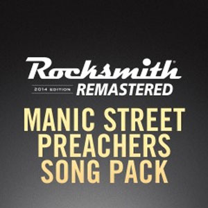 Rocksmith 2014 Manic Street Preachers Song Pack