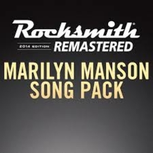 Rocksmith 2014 Marilyn Manson Song Pack