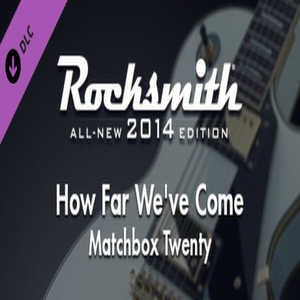 Buy Rocksmith 2014 Matchbox Twenty How Far Weve Come CD Key Compare Prices