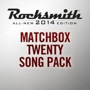 Rocksmith 2014 Matchbox Twenty Song Pack