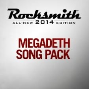 Rocksmith 2014 Megadeth Song Pack