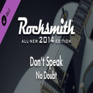 Rocksmith 2014 No Doubt Dont Speak