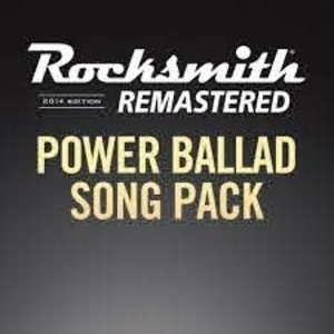 Rocksmith 2014 Power Ballad Song Pack