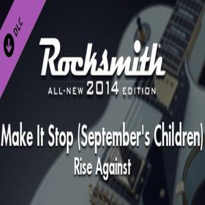 Rocksmith 2014 Rise Against Make It Stop Septembers Children