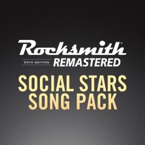 Rocksmith 2014 Social Stars Song Pack