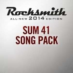 Rocksmith 2014 Sum 41 Song Pack