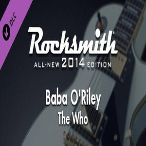 Rocksmith 2014 The Who Baba O Riley