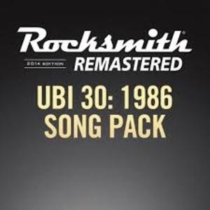 Rocksmith 2014 UBI30 1986 Song Pack
