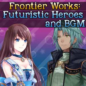 RPG Maker Frontier Works Futuristic Heroes and BGM