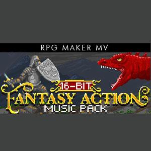 RPG Maker MV 16 Bit Fantasy Action Music Pack