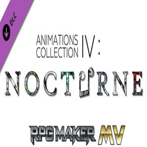 RPG Maker MV Animations Collection 4 Nocturne