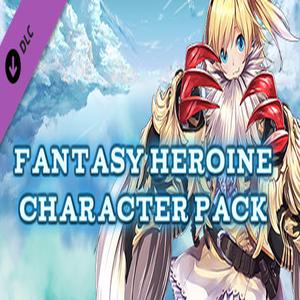 RPG Maker MV Fantasy Heroine Character Pack